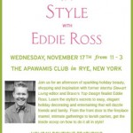 Eddie Ross-Holiday Style