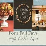 Four Fall Favs – Eddie Ross