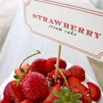 Summer Entertaining: Strawberry Cream Cake