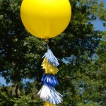 Geronimo Balloon DIY- First Day of School