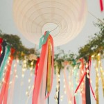 Outdoor Entertaining Decor – Paper Lanterns
