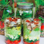 Getting Organized – Mason Jar Salads
