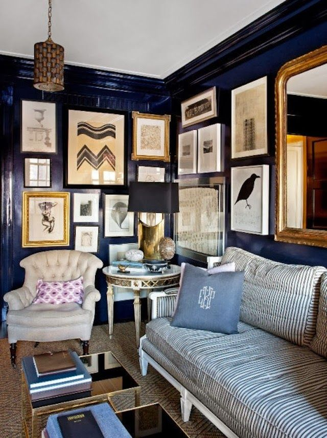 Stunning This butlers pantry is one of my favorites and belongs to my pal Sue over at The Zhush She has an amazing eye for color and I love that she took a