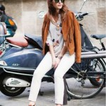 Fall Fashion – Transition with White Jeans