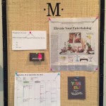 Get Organized – Custom Bulletin Boards
