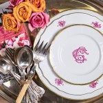 Chic Customized Dinnerware – Sasha Nicholas