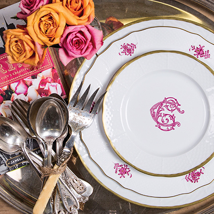 You can send them photos of your grandmotheru0027s china or dinnerware youu0027ve picked up along the way and they will make suggestions to compliment what you ... & Chic Customized Dinnerware u2013 Sasha Nicholas