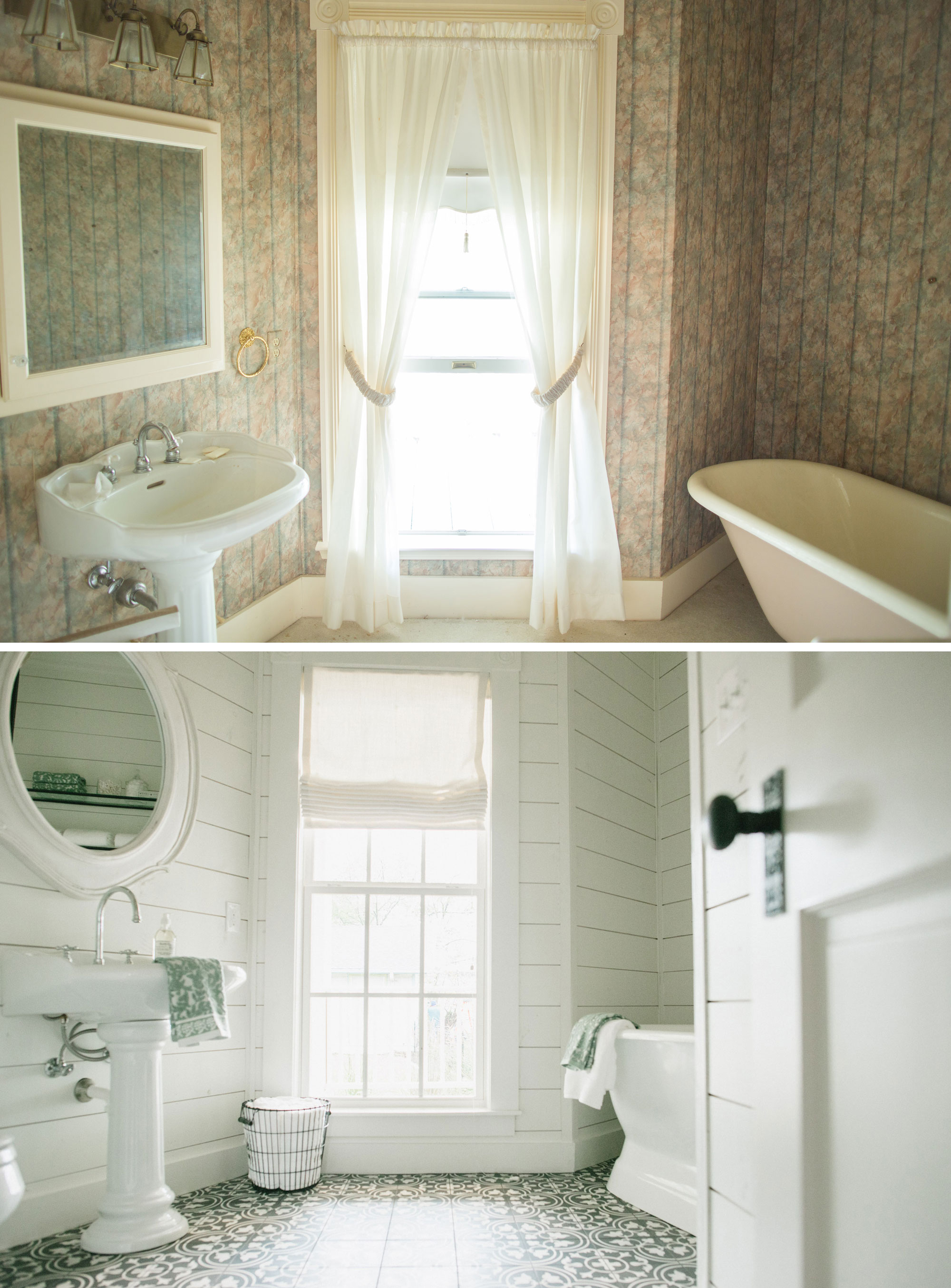 Magnolia house the new b b by fixer upper - Fixer upper long narrow bathroom ...