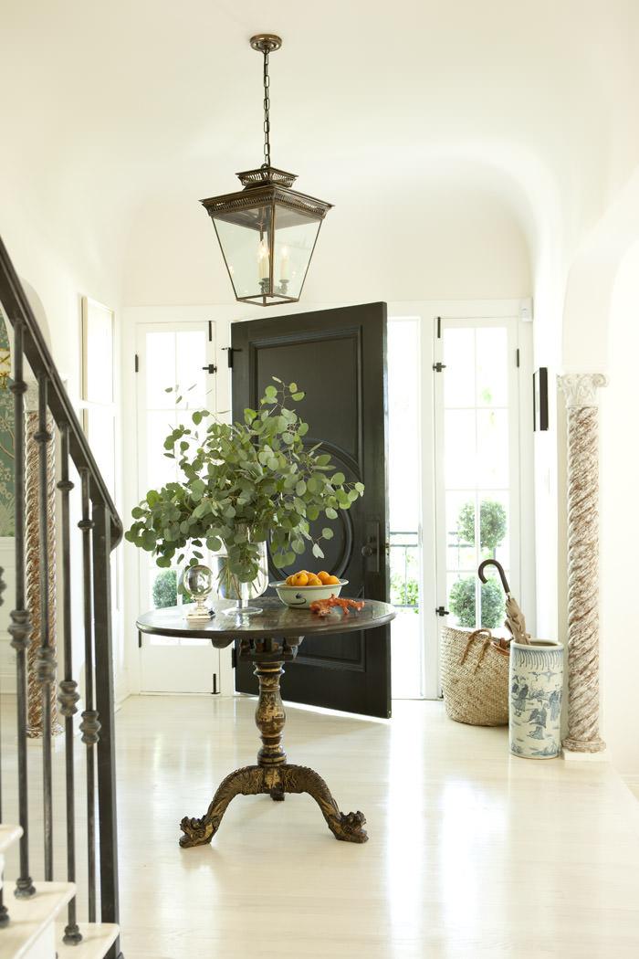 Hampton Bay Interior Foyer Lantern : Interior design love mark d sikes