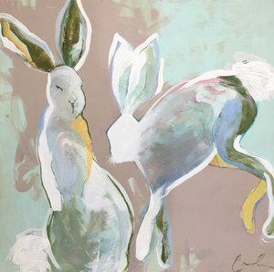 Playful+Hares+30x30+Caroline+Boykin-1