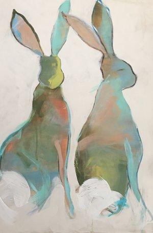 Stare+Hares+24x36+Caroline+Boykin