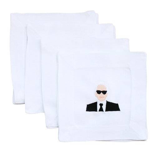 karl-lettermade-cocktail-napkins