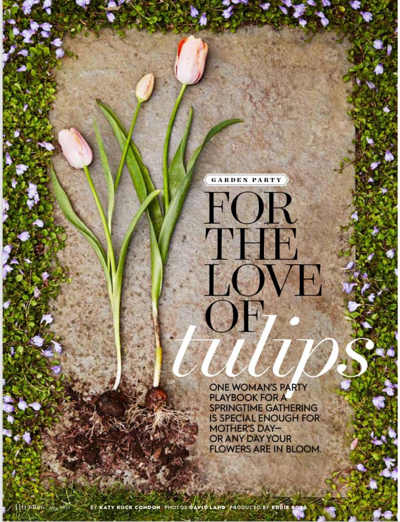 Nearly Two Years After A Photo Shoot At My House, The Tulip Party Is In  Print In The May Issue Of Better Homes U0026 Gardens!