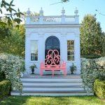 The Parterre Bench by Bettie Bearden Pardee