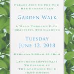 Garden Walk in Rye
