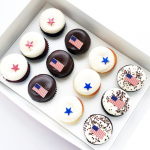 Stars, Stripes and Cupcake Bites