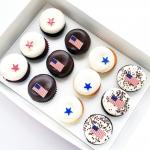 Stars, Stripes and Cupcake Bites